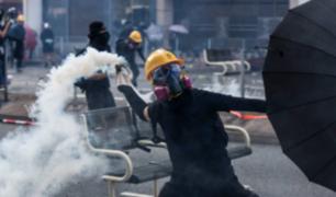 Hong Kong: violencia en aniversario de República Popular China