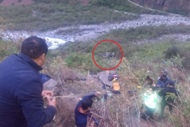 Sutran da a conocer lista de heridos que dejó fatal despiste de bus en Cusco