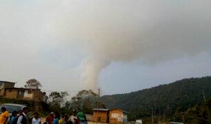 Puno: incendio forestal afecta 115 hectáreas de cultivos