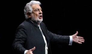 Tenor Plácido Domingo renunció a la dirección de la Ópera de Los Ángeles