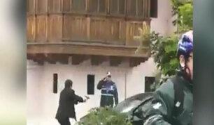 Jesús María: sujeto disparó y atrapó a delincuentes que intentaron robar auto
