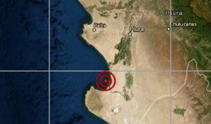 Movimiento sísmico de 4.0 remeció a la región Piura