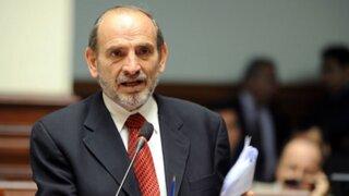 Yehude Simon niega haber recibido dinero de Odebrecht y se allana a investigaciones