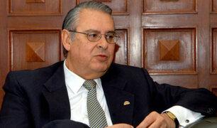 Allan Wagner propone que Presidente convoque una mesa de diálogo con dirigentes políticos