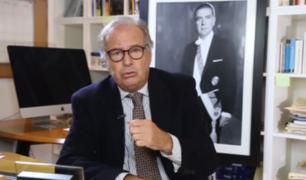 "Alfredo Barnechea comparó a Vizcarra con Fujimori: ""Disolución es ilegal"""