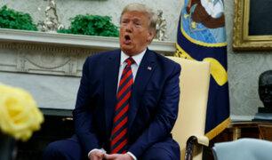EEUU: demócratas acusan a Trump de obstruir investigación de juicio político en su contra