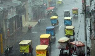 Senamhi alerta de lluvias fuertes en la selva sur y centro