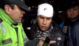 SMP: presunto ladrón fue atropellado cuando huía de serenos