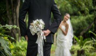 Falsa novia denuncia a 'esposo' por negarse a pagar boda ficticia
