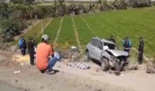 Pisco: camioneta se despistó y dejó un muerto