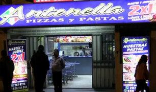 VES: delincuentes armados asaltan dos pizzerías de una misma cadena