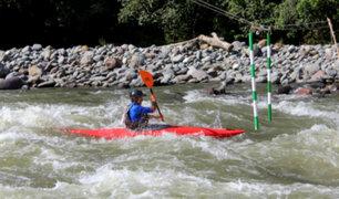 Campeonato Nacional de Canotaje se realizó con éxito en Huánuco