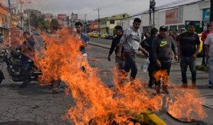 Reformas económicas desatan violentas protestas en Ecuador