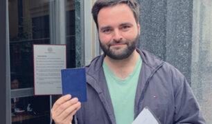 Alberto de Belaunde devolvió pasaporte diplomático a Cancillería