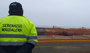 Costa Verde: responsables de arrojar material tóxico serán denunciados