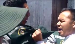 Arequipa: taxista se negó a ser intervenido y agredió a inspector municipal