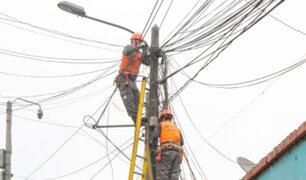 Centro Histórico de Lima: iniciaron retiro de cables aéreos de telefonía
