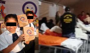 Lurín: escolares fueron intoxicados por alimentos de Qali Warma
