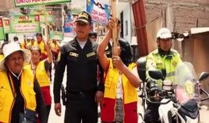Cerrito la Libertad: vecinos y PNP se unen para combatir delincuencia