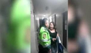 PNP investigará caso de agresión mutua entre suboficial y mujer