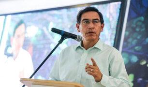 Martín Vizcarra: esperemos que podamos dar por superada la etapa de confrontación