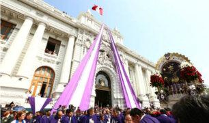Palacio Legislativo no recibirá la visita del Señor de los Milagros este año
