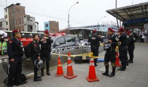 Av. Alfonso Ugarte: infracción de normas de tránsito provocó muerte de policía