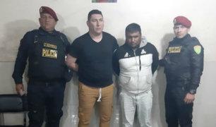 Ate: detienen  a policía que integraba banda de raqueteros