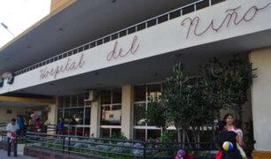Breña: denuncian a médicos por ingerir alcohol en Hospital del Niño