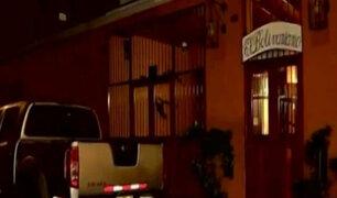 Pueblo Libre: mujer muere en extrañas circunstancias al interior de restaurante