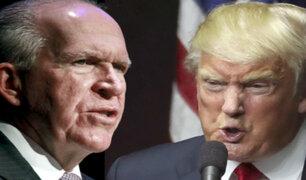 """EEUU: exjefe de la CIA aseguró que Trump tiene un """"gobierno muy corrupto"""""""