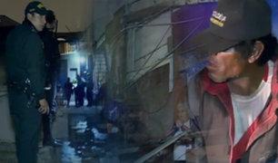 Barrios Altos: Policía realiza dos operativos por semana para combatir delincuencia