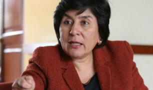 MP recibirá declaraciones de magistrada Ledesma por supuestas presiones