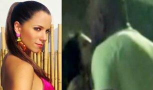 Vanessa Terkes: captan a actriz besándose con nuevo galán