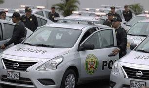 Entregan primer lote de 130 patrulleros para reforzar seguridad en Lima y Callao