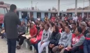 Pisco: suspenden empadronamiento de ciudadanos venezolanos