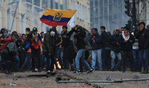 Ecuador: un muerto y 500 detenidos deja protestas por alza de combustible