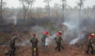 Bolivia: lluvias ayudan a apagar los incendios forestales tras dos meses de fuego