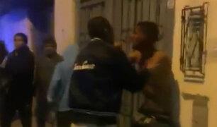 Puente Piedra: vecinos casi linchan a sujeto que asaltó a embarazada
