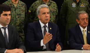 Presidente de Ecuador, Lenín Moreno, traslada sede de Gobierno a Guayaquil