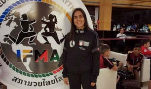 Catalina Rincón: peruana ganó medalla de plata en mundial de Muay Thai