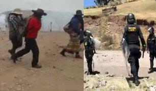 Cusco: al menos cuatro heridos durante protestas en contra de minera Las Bambas