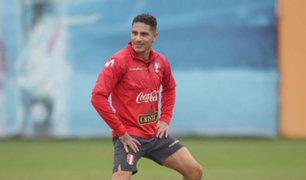 Paolo Guerrero asegura que se encuentra apto para enfrentar a Uruguay