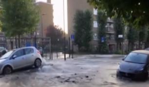 Londres: 150 viviendas inundadas tras rotura de tubería