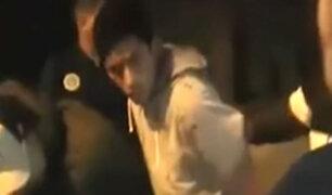 SMP: mujer grabó preciso instante de un asalto en cabina de Internet