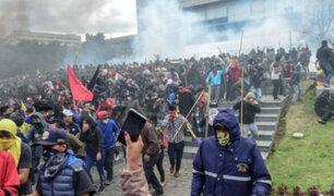 Paro Nacional: FF.AA. de Ecuador exhortan a ciudadanía a mantener el orden