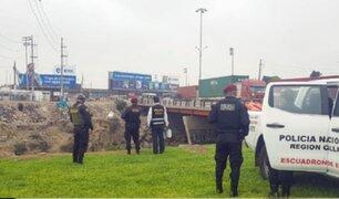 Callao: hallan cadáver de mujer en ribera del río Rímac