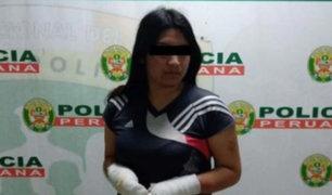 Familiar de mujer que roció combustible en rostro de expareja asegura que fue de casualidad