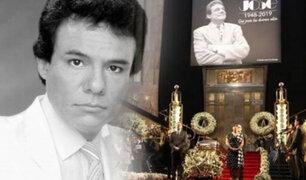 """José José: se realiza homenaje del último adiós al """"Príncipe de la canción"""""""