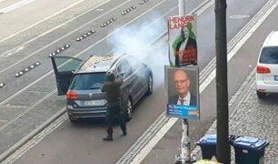 Alemania: neonazi asesinó a dos personas fuera de sinagoga